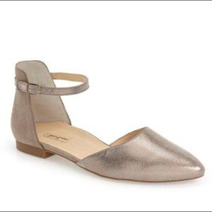 • Paul Green • Henly Ankle Strap Leather Flat